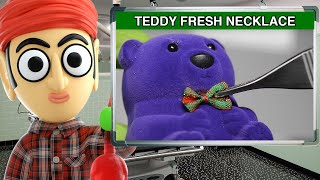 Teddy Fresh Bear Silver Pendant Necklace - Runforthecube Product Review