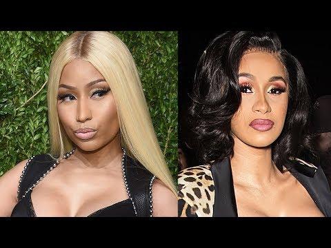 "Cardi B Nicki Minaj Feud Reignited Over ""Thotiana' Remix & Ariana Grande Reacts To Pete's New Fling Mp3"