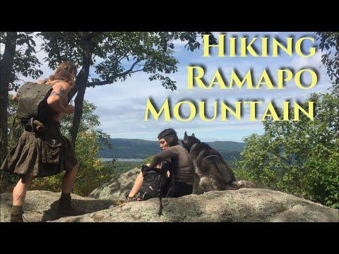 Hiking Ramapo Mountain State Park New Jersey