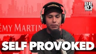 Self Provoked Freestyles Over Tupac's