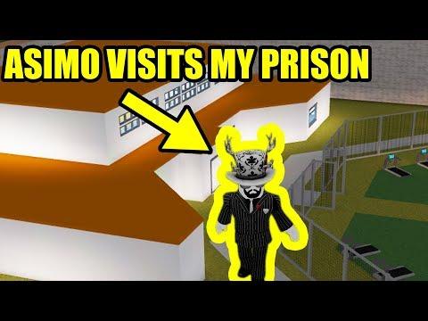 asimo3089 VISITS MY BLOXBURG JAILBREAK PRISON!!!   Roblox Bloxburg Jailbreak
