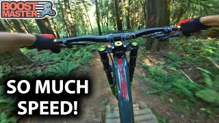 I'VE NEVER GONE SO FAST On These AMAZING DH TRAILS! | Jordan Boostmaster