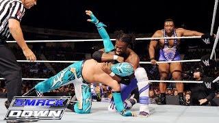 The Lucha Dragons vs. Kofi Kingston & Big E of The New Day: SmackDown, July 16, 2015