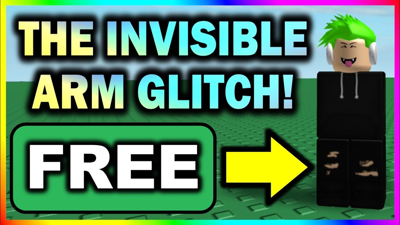 How To Be Invisible In Robloxian Highschool 2019 New Invisible Arm Glitch On Roblox Free Youtube