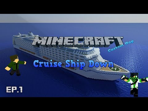 [RO]Minecraft Custom Map - Cruise Ship Down - part 1