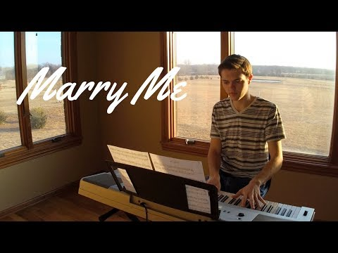 Marry Me - Thomas Rhett Instrumental Piano Cover by Jacob Edelman