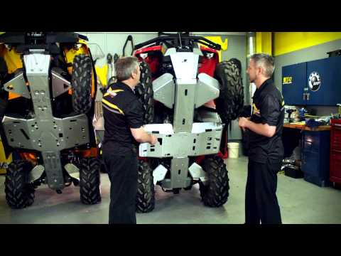 Can-Am Off-Road ATV - Skid Plates - YouTube
