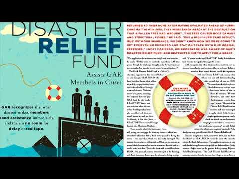 GAR's Disaster Relief Fund: A unique member benefit
