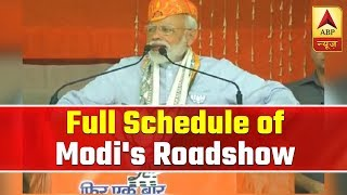 Full schedule of Modi's major roadshow in Varanasi today