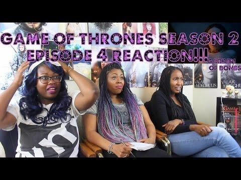 Game Of Thrones REACTION Season 2 Episode 4  Garden Of Bones