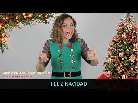Navidad - Aprende Lengua de Signos Española LSE / Tutorial InfoSordos