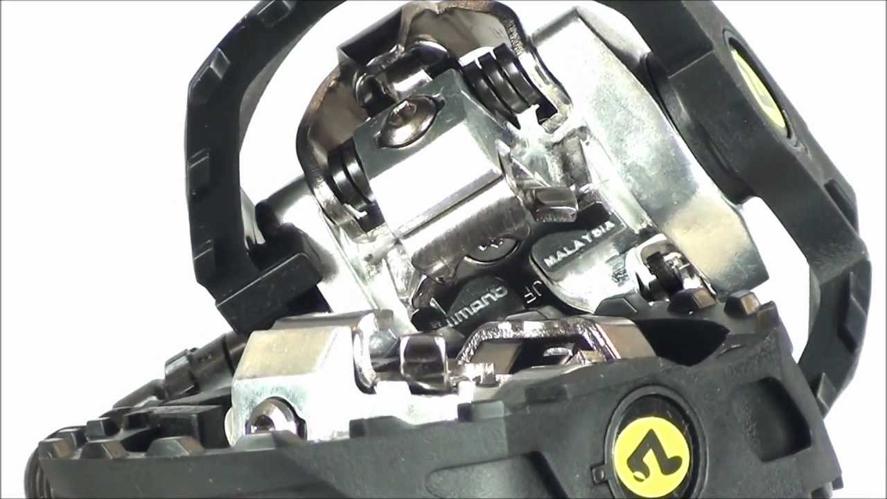 Shimano M424 SPD Pedals - YouTube