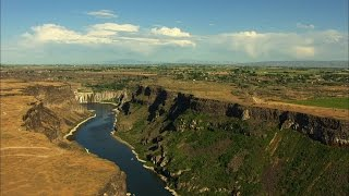 Evel Knievel's Famous Snake River Canyon Jump