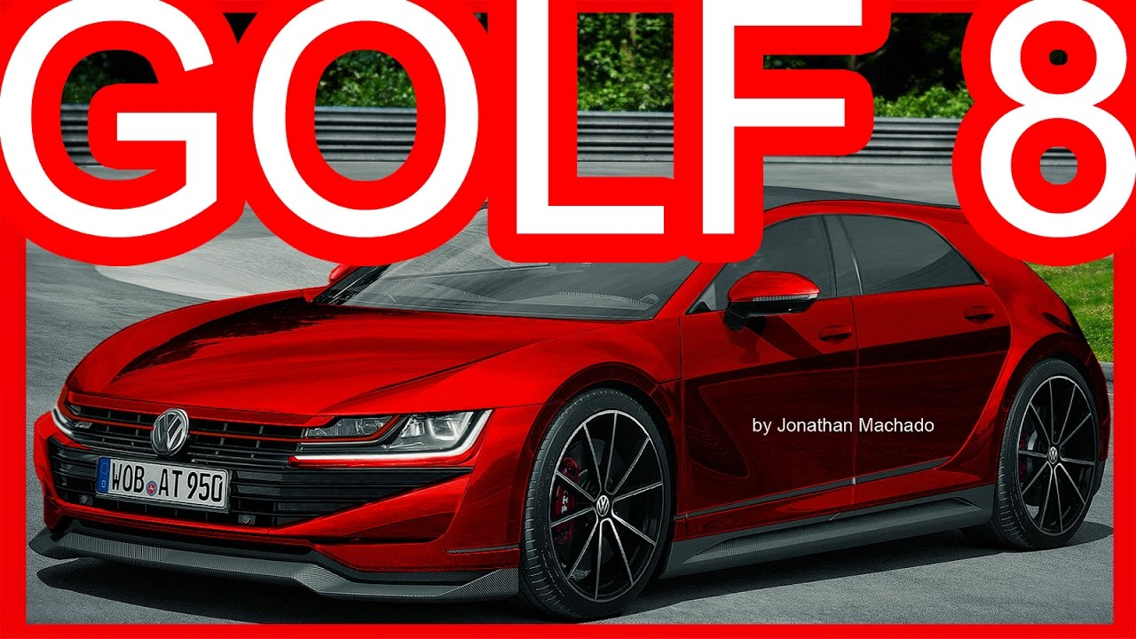 PHOTOSHOP New 2020 Volkswagen Golf MK8 GTI Hybrid 400 hp @ Golf GTE Sport Concept #GOLF8 - YouTube