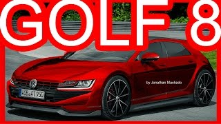 PHOTOSHOP New 2020 Volkswagen Golf MK8 GTI Hybrid 400 hp @ Golf GTE Sport Concept #GOLF8