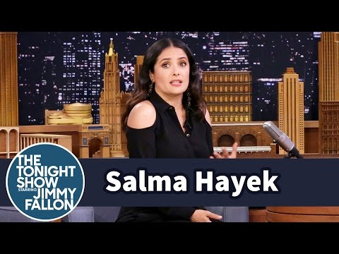 Salma Hayek Thought Her Husband Was Having an Affair with an App