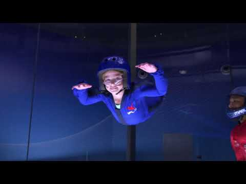Video of The Bear Grylls iFly Experience