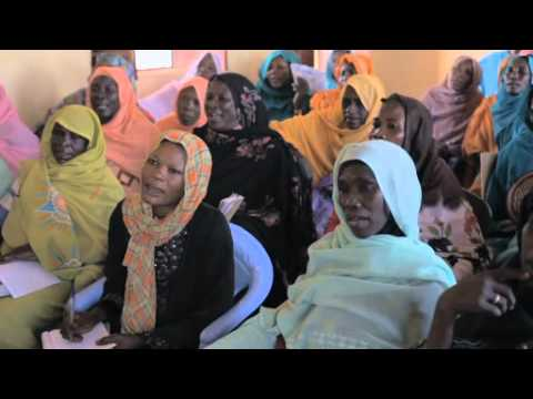 Interviews from WFP SAFE centre in Darfur