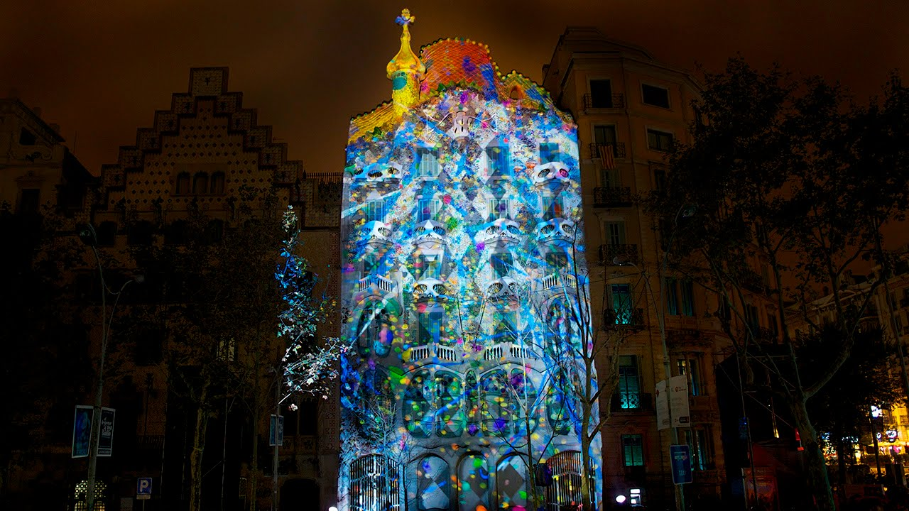 e2f5e93bb0 El despertar de la Casa Batlló (Mapping Oficial HD) - YouTube