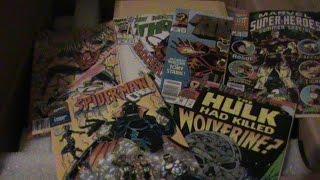 父のアメリカンコミックブックコレクション!