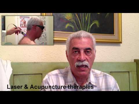 Laser & acupuncture for pain