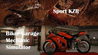 Sport KZR - Junkyard Restoration Gameplay Timelapse - Biker Garage: Mechanic Simulator screenshot 4