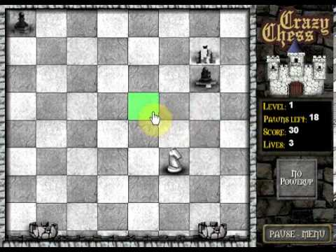 crazy chess flash game casual gameplay youtube