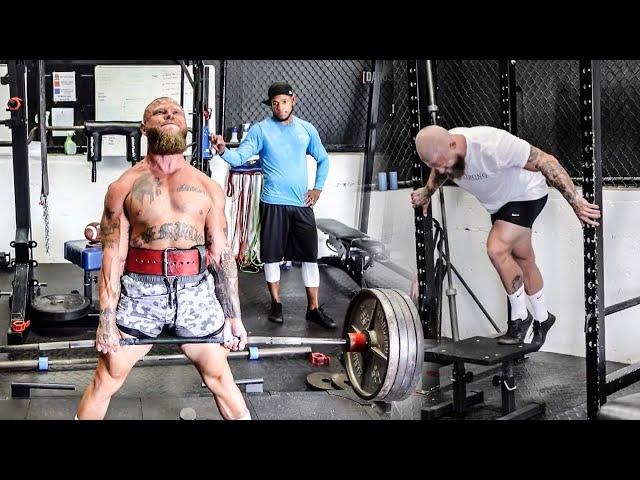 Full Body Workout & Max Effort Deadlifts | Phil Daru