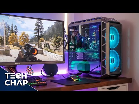 New PC Setup 2018 - Gaming & 4K Video Editing | The Tech Chap