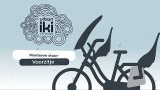 Urban Iki Front seat: het monteren van de handlebar