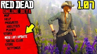 New Red Dead Online 1.07 Title Update BROKE THE GAME! Red Dead Online 1.07 Patch Notes! (New Update)