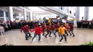 Bollywood Flash mob Cairo airport / official video  ( 2015)