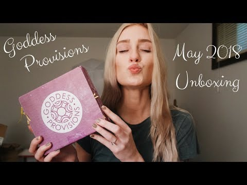 Goddess Provisions Unboxing | May 2018