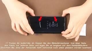 AsBellt-DE 3D Glas (Flüssigkeit) Schutzfolie mit Rückenfolie Installationsvideo 1.10