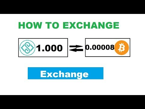 CARA EXCHANGE COIN EVERUS (EVR) KE BITCOIN (BTC) PART 1