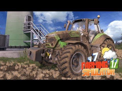 Farming Simulator 17 - Ветрогенератор в аренду? Местные дают советы! Летсплей фс17 карта Брузда ч7