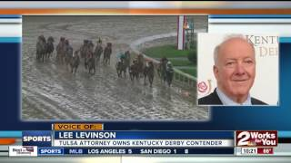 Lookin At Lee, owned by Tulsa attorney Lee Levinson, finishes 2nd at Kentucky Derby