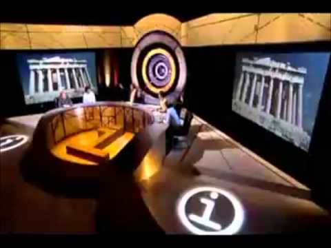 Stephen Fry loses it on QI
