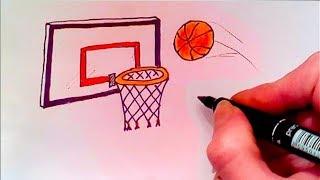 Игра Баскетбол, Мяч летит в кольцо