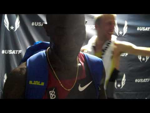 Lopez Lomong Comes Up Short in 2017  USATF 5000m