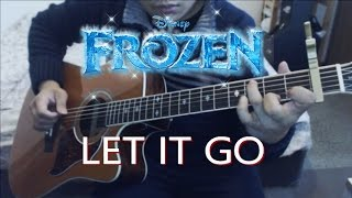 Let It Go - Idina Menzel (Frozen OST) Guitar Cover | Anton Betita