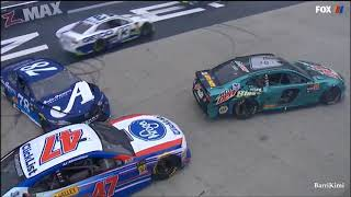 Monster Energy NASCAR Cup Series Bristol 2018 Lap 3 Big Wreck