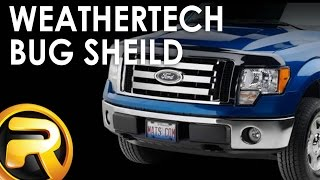 How to Install the WeatherTech Bug Shield