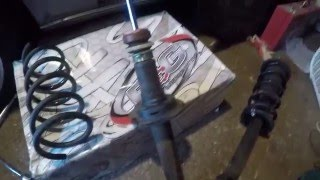 How to Cut Your Springs The Right Way (lower your car)