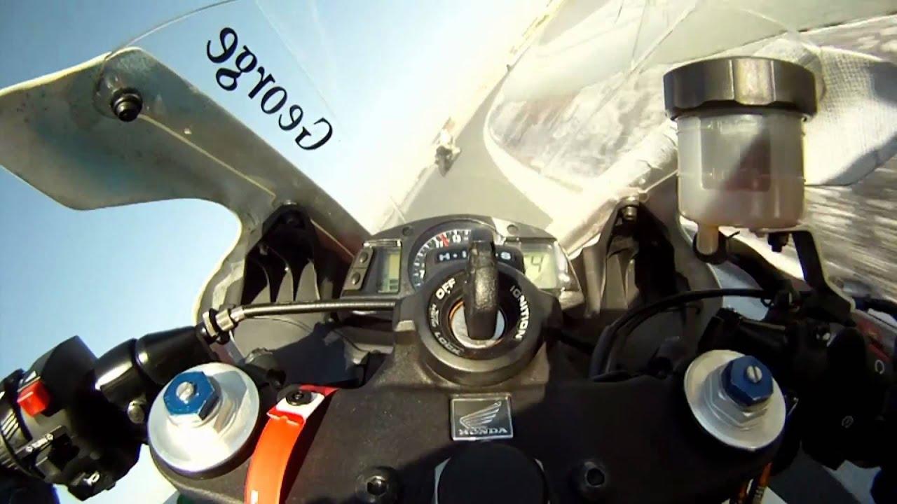 Onboard Track Day Honda Cbr600rr Vs Yamaha R6 Gopro Hd