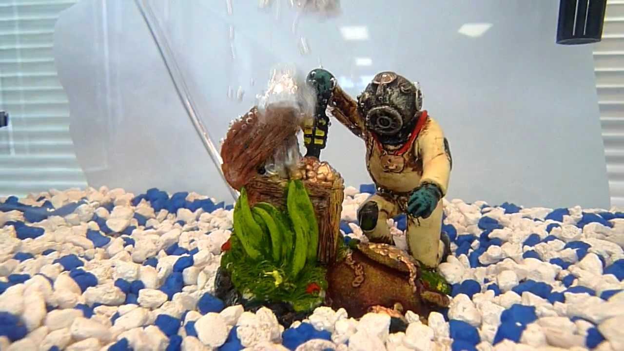 Aquarium decorations diver images for Aquarium diver decoration