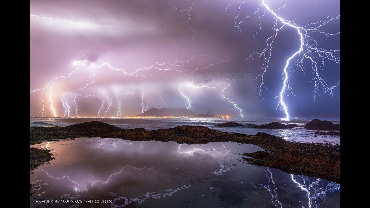 Cape Electric Storm - Blaawberg Rocks Pools