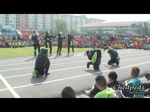 การแสดง Dancing Contest รางวัลรองชนะเลิศอันดับ 2 สีเขียว โรงเรียนบดินทรเดชา สิงห์ สิงหเสนี By Chedped