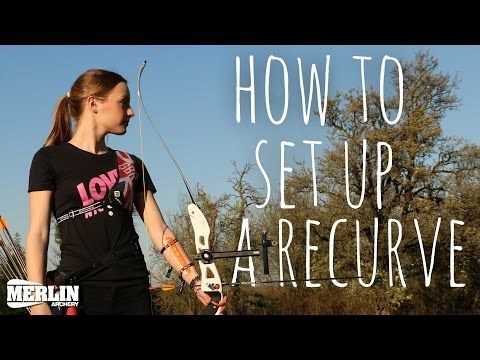 How to setup a Target Archery Recurve Bow