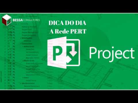 Rede PERT no MS Project